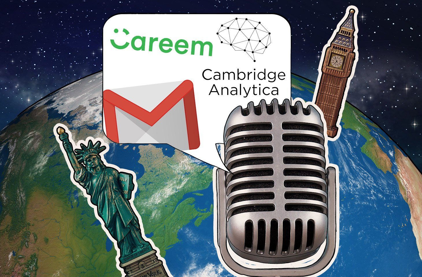 Jeff and Ahmed discuss privacy online, the latest on Cambridge Analytica, and more.