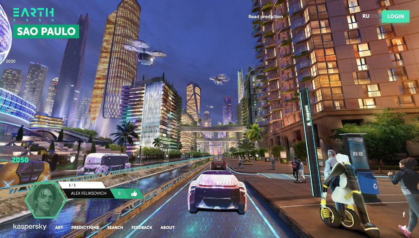 São Paulo on Earth 2050