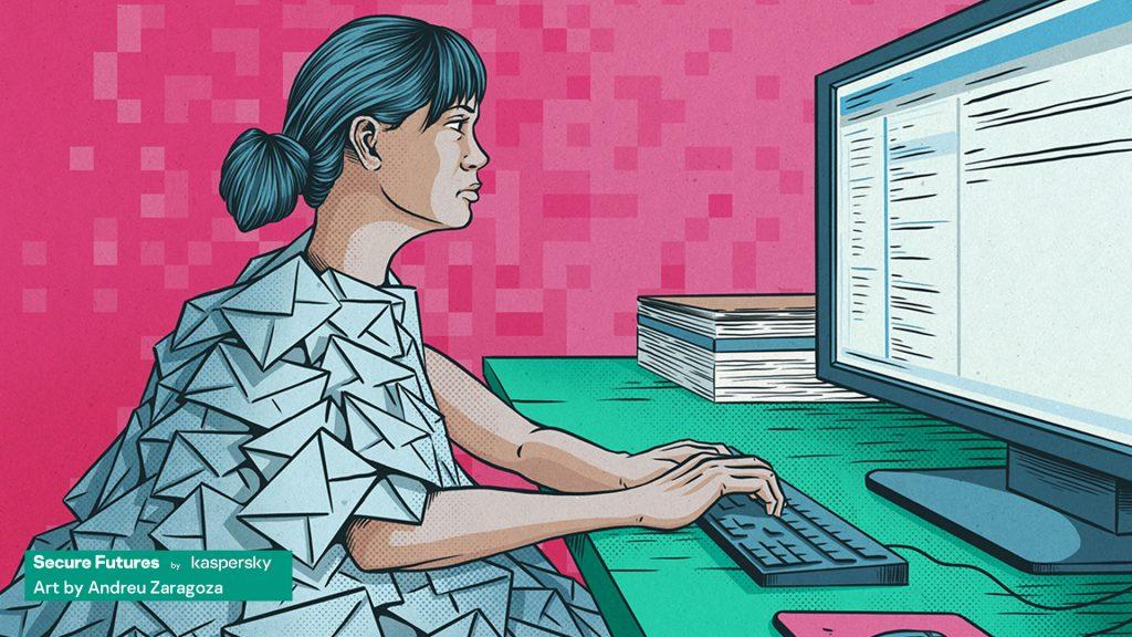 kaspersky secure futures magazine post email era