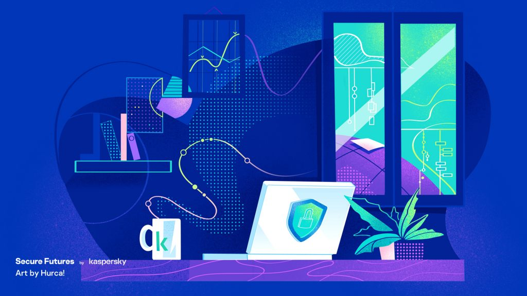kaspersky secure futures magazine home working security