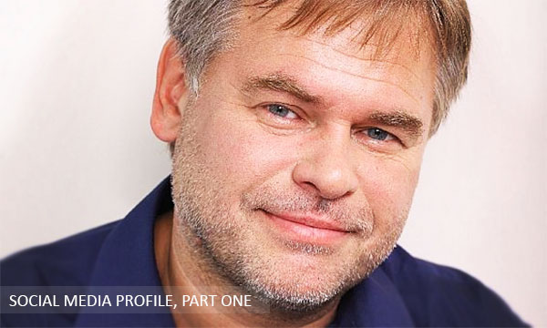 Eugene Kaspersky Social Media Interview (profile)