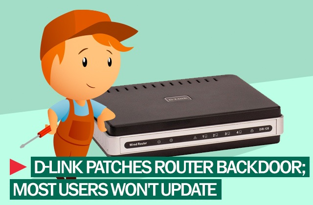 fixing d-link wireless router