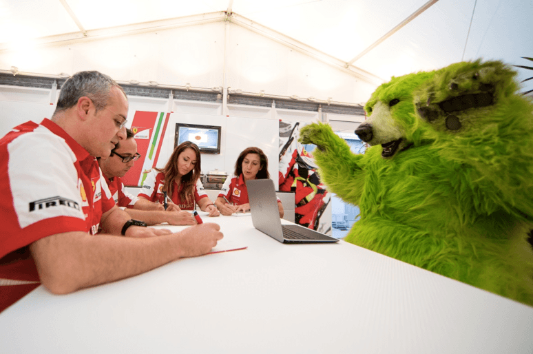 greenbear typing