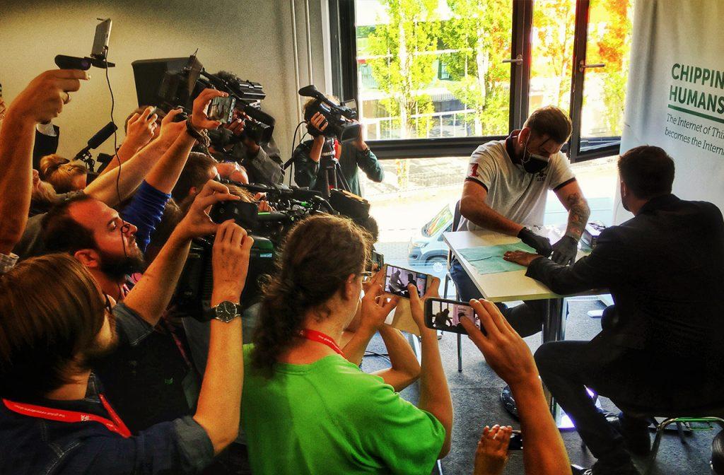 Rainer Bock — the third BionicMan in Kaspersky Lab