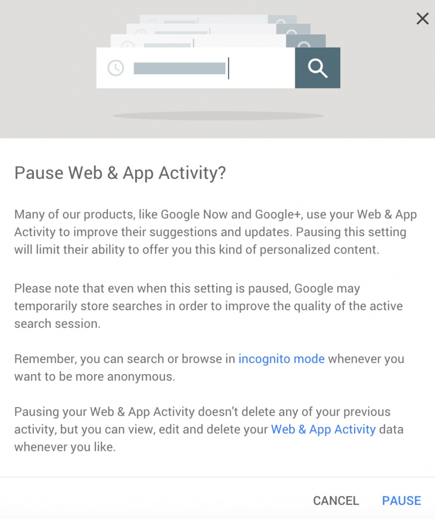 Do you know what you are sharing with Google?