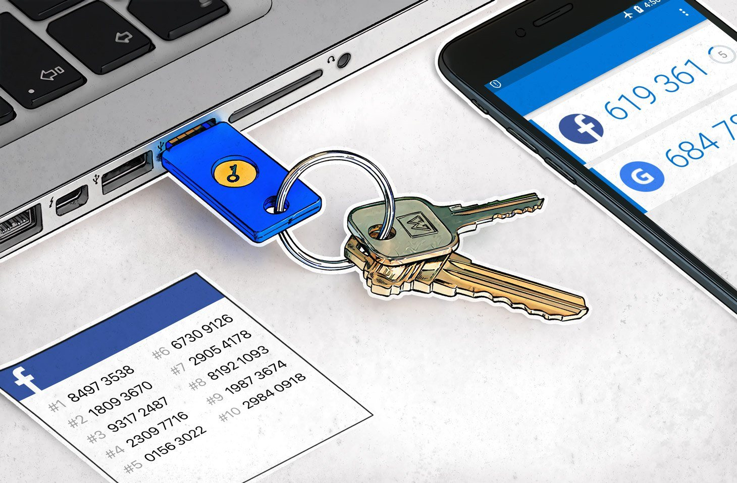What to choose for 2-factor authentication