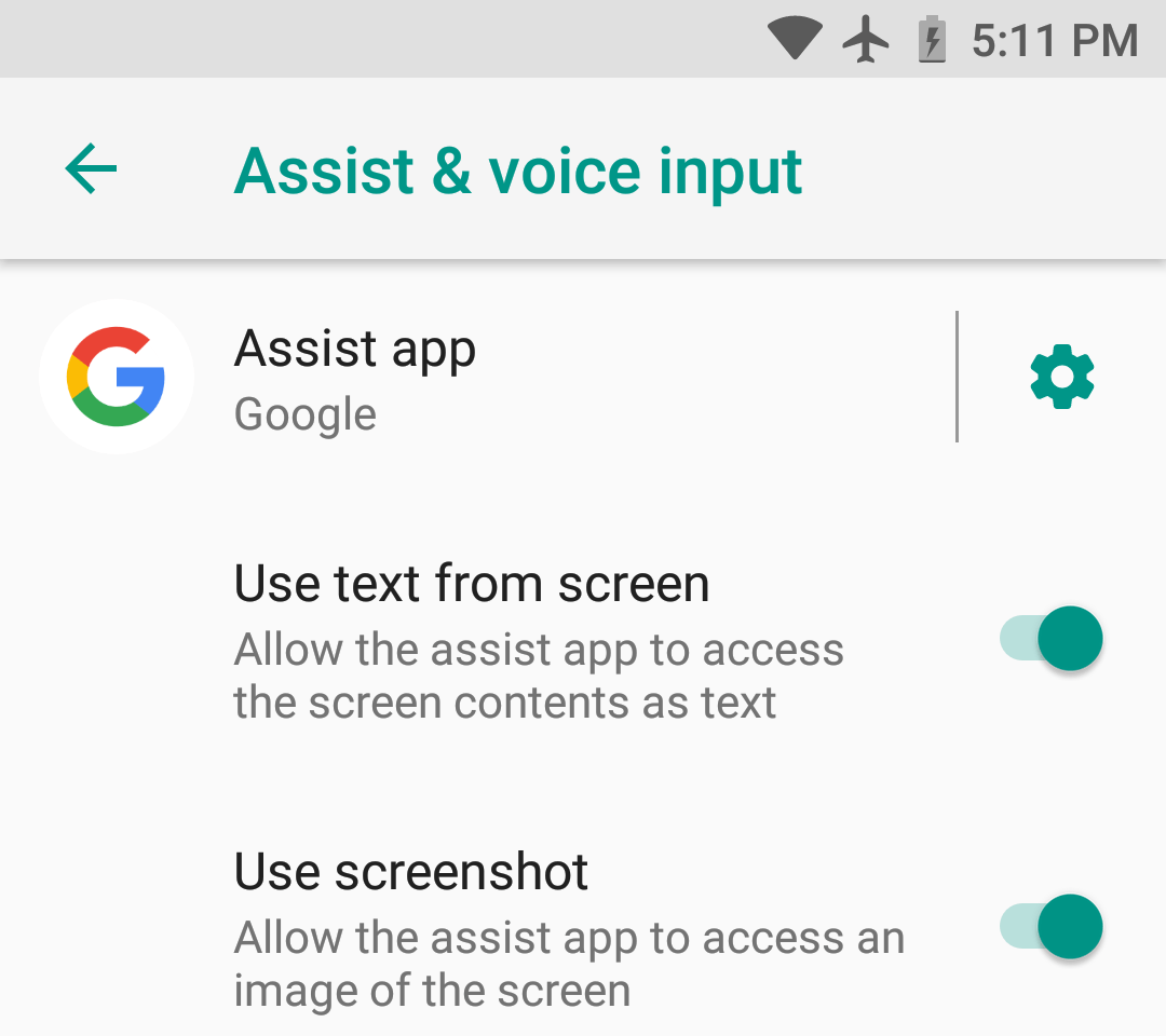 By the way, the assistant in your smartphone sees what's on the screen. You don't have to talk about it, just let it read
