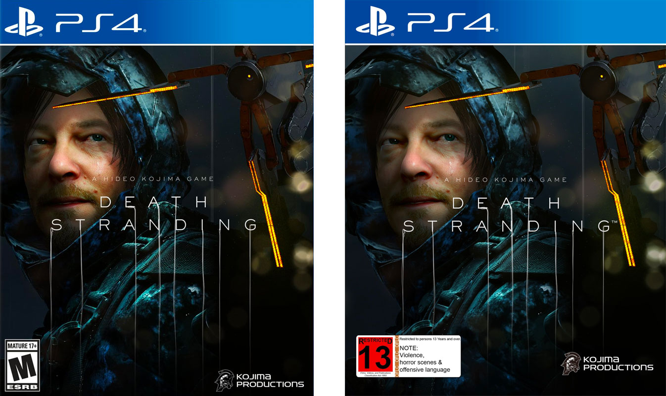 Death Stranding: M in USA, and only R13 in New Zealand