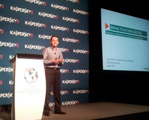 El analista de malware de KL en Brasil, Fabio Assolini