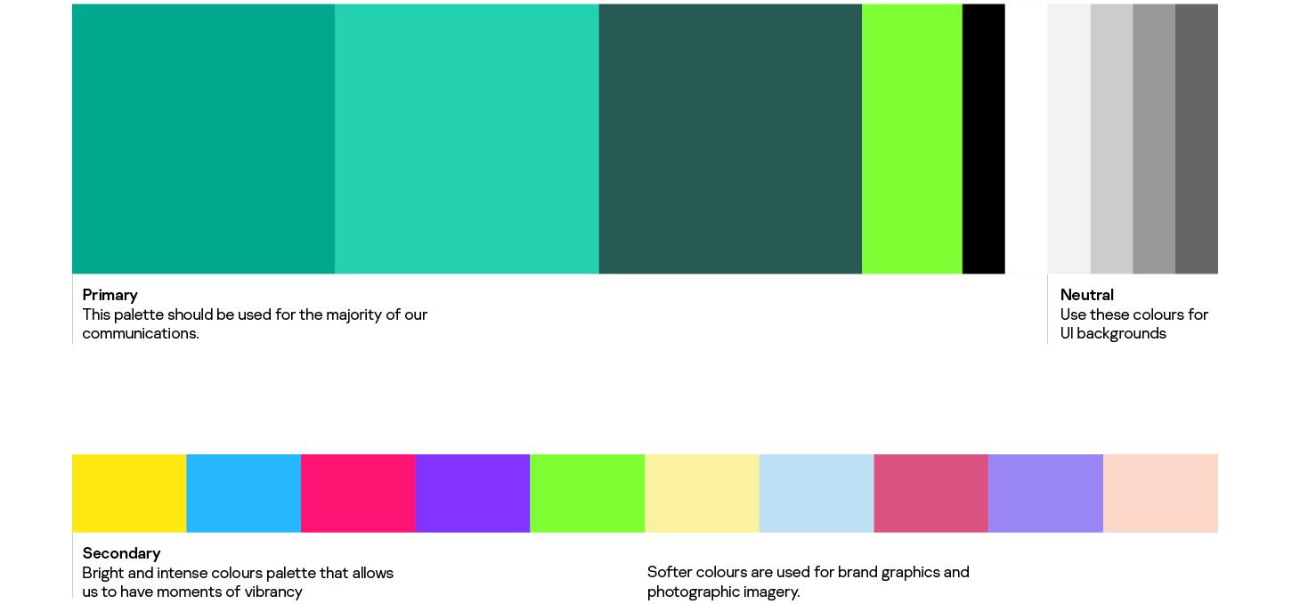 Los nuevos colores de la marca Kaspersky.