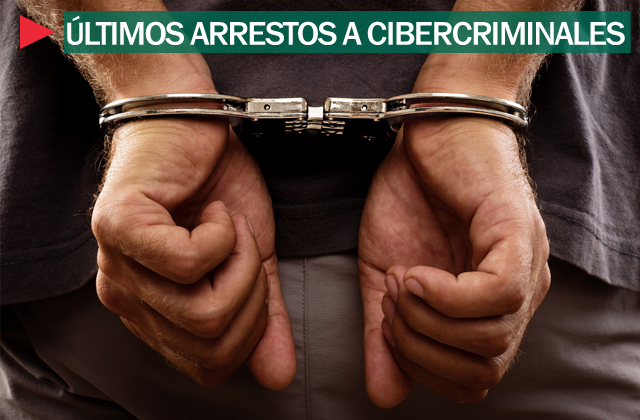 Arrestos a cibercriminales
