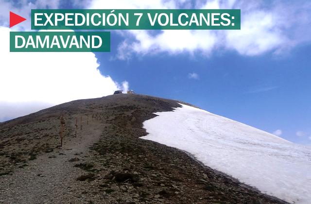 Expedición 7 Volcanes: Damavand