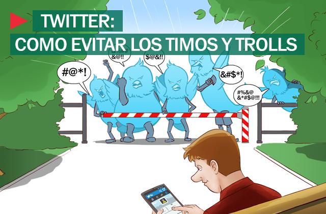 Trolls y timos en Twitter