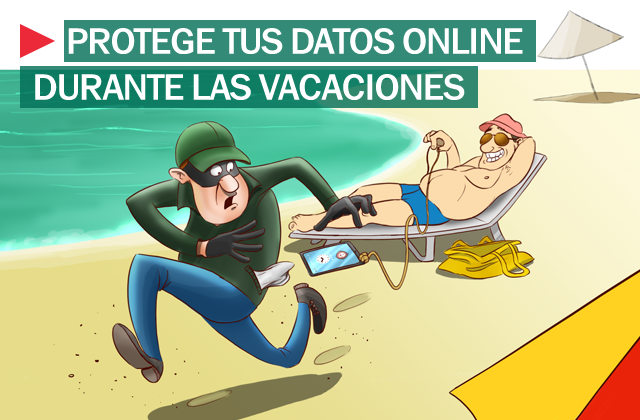 Protección informacion vacaciones