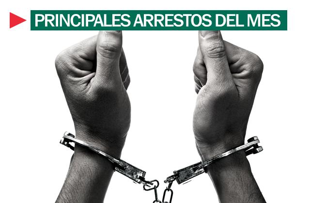 Arrestos septiembre