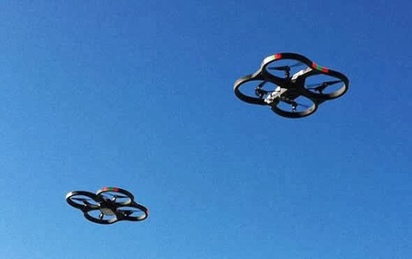 Hackeo de un drone