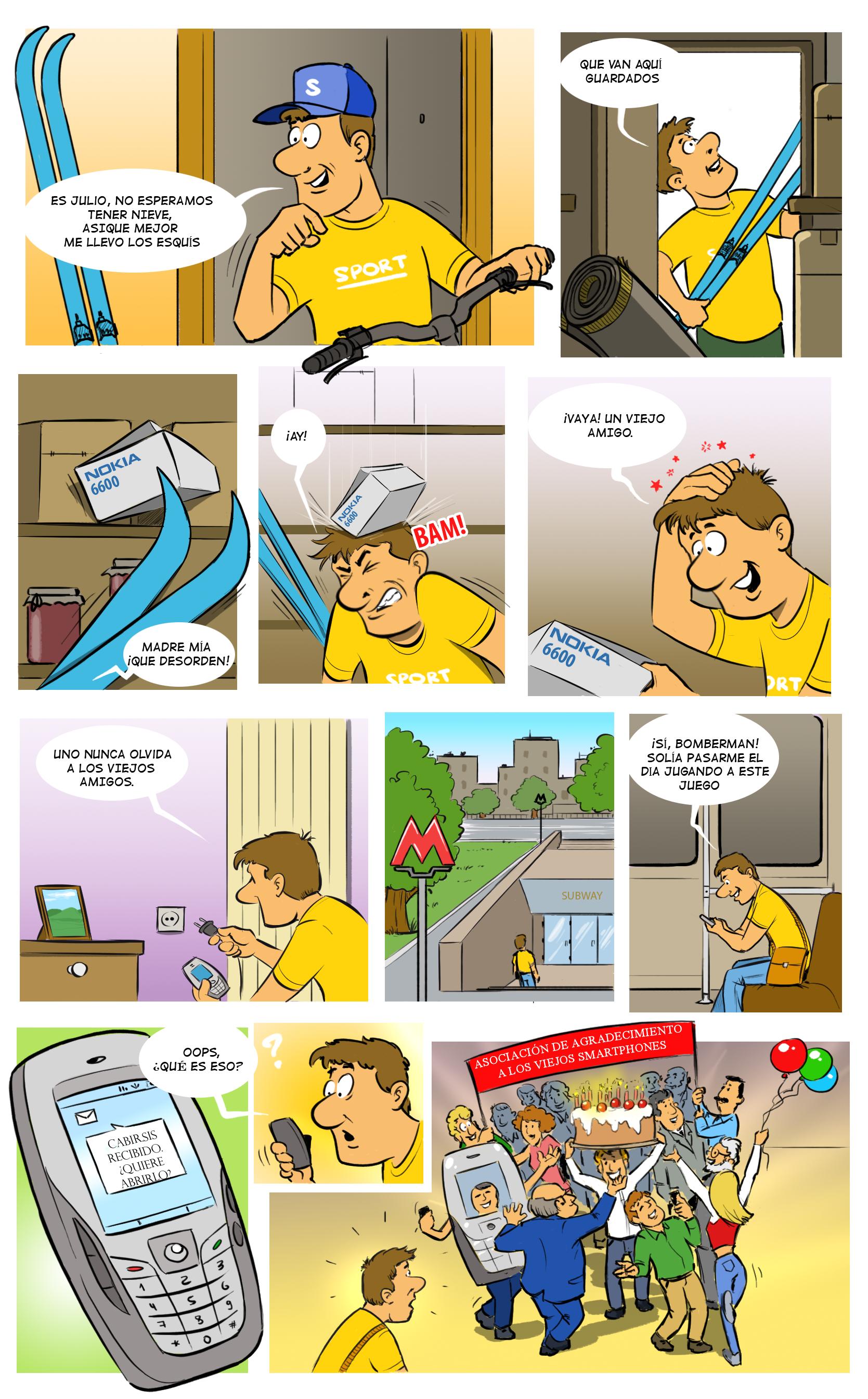 Cabir comic