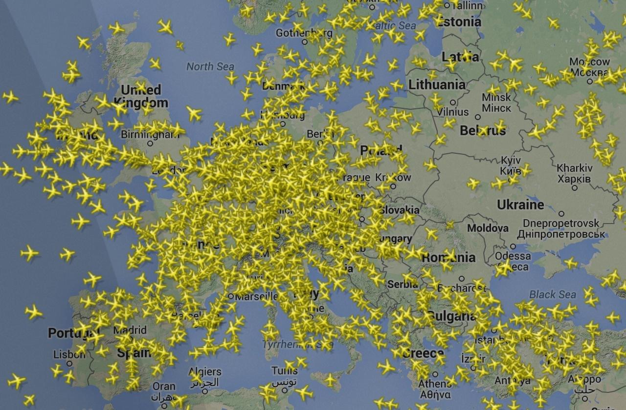 Rastreando Aviones Cómo Funciona El Flightradar24 Blog Oficial De Kaspersky