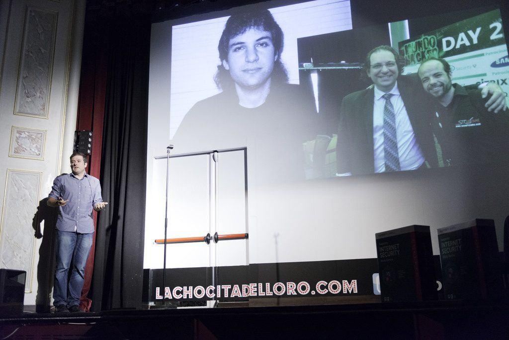Presentación de Kaspersky 2016 en La Chicita del Loro. Madrid