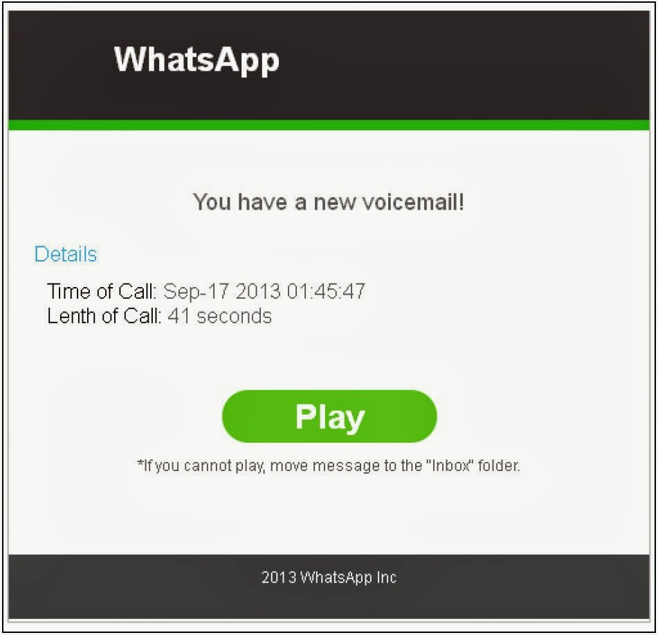 spam whatsapp