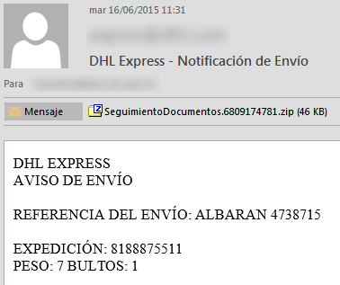 spam_dhl
