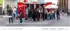 estafa rayban facebook