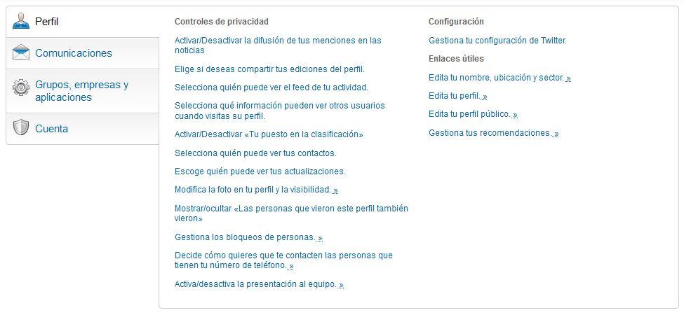perfil linkedin