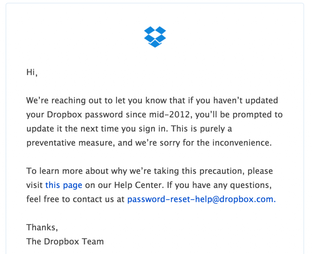 68M Dropbox passwords stolen — what you need to know