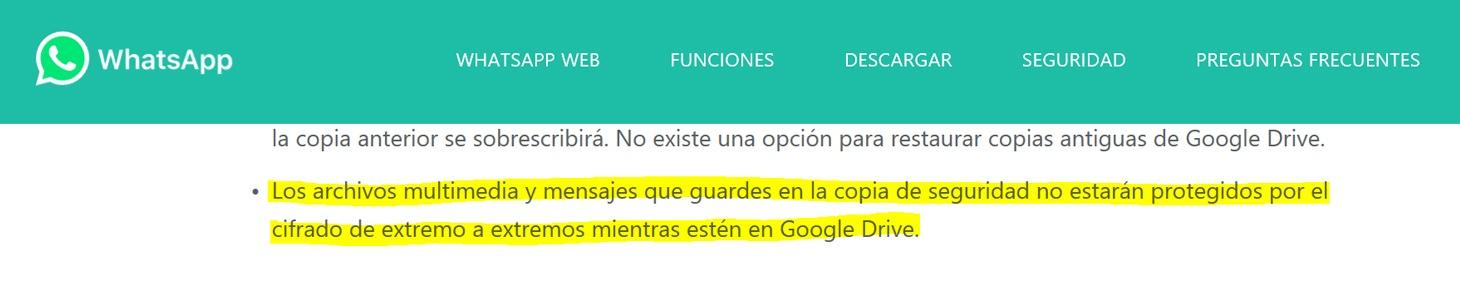 descargar copia de seguridad de google drive