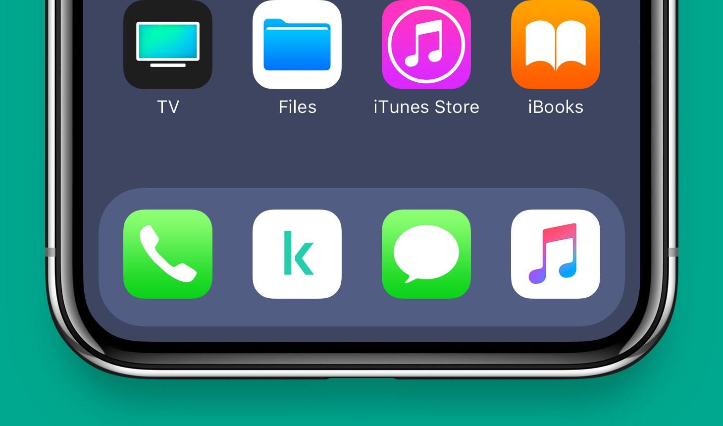 La nuova icona delle applicazioni di Kaspersky.
