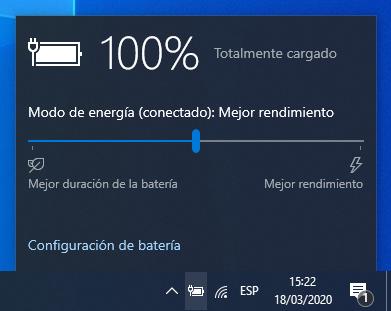 Ajustar la configuración de potencia puede ayudar a mejorar el rendimiento del juego