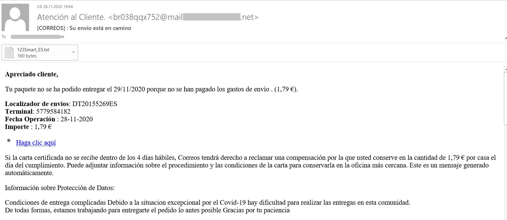 phishing correos