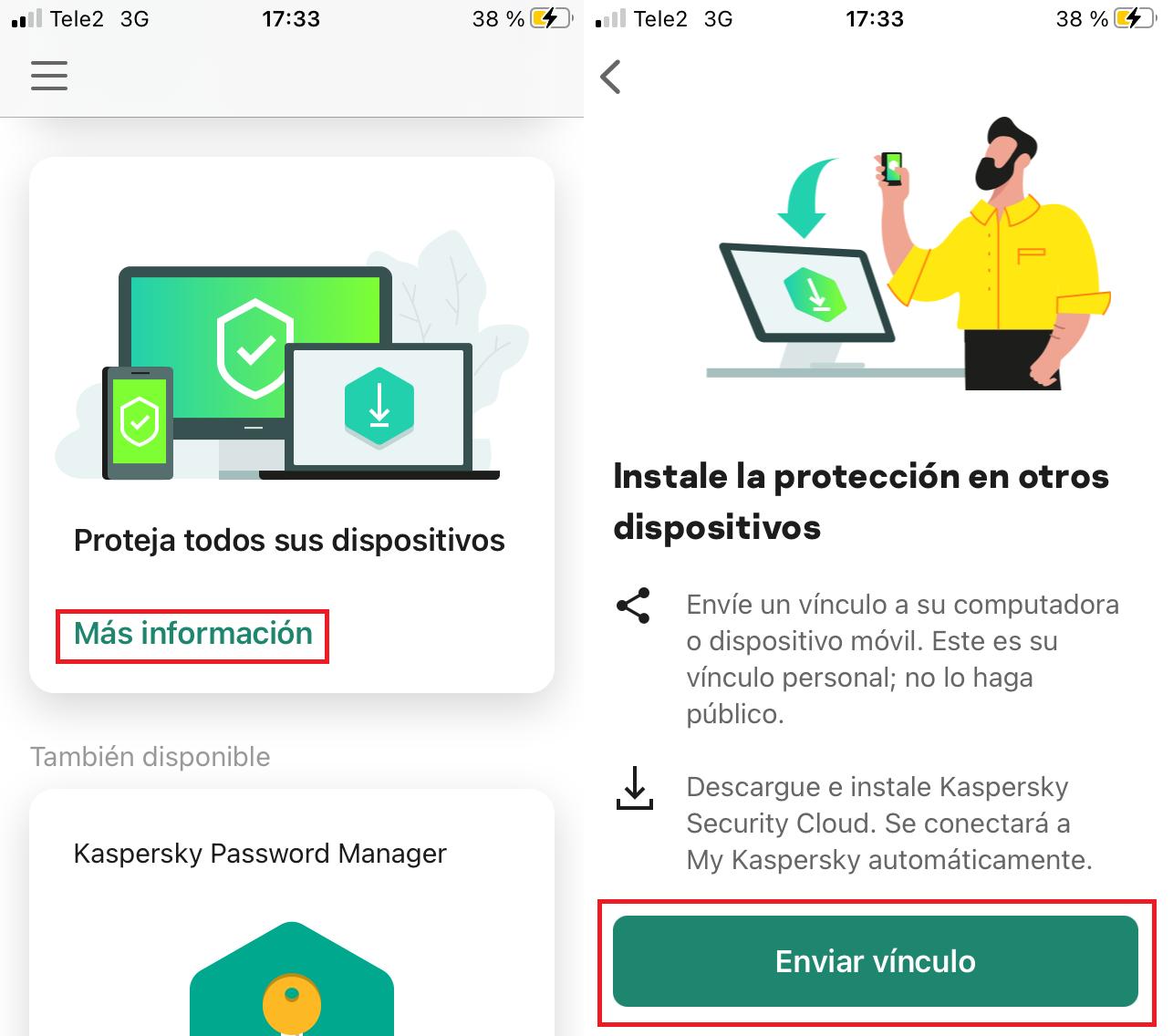 Cómo enviar una licencia a un dispositivo nuevo desde tu smartphone