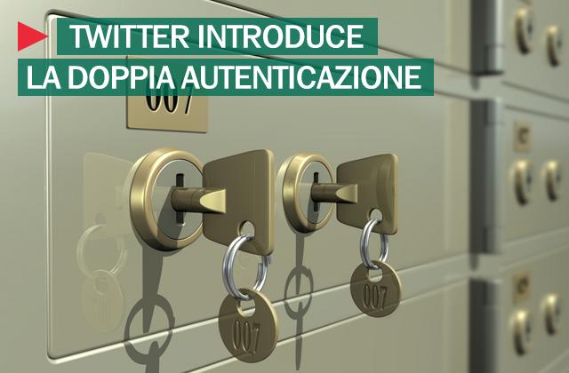 Twitter doppia autenticazione