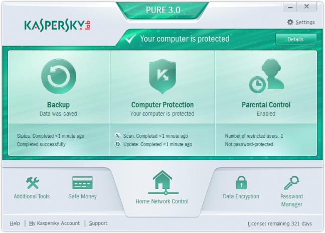 PURE 3.0 transazioni sicure