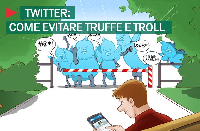 Twitter truffe e troll