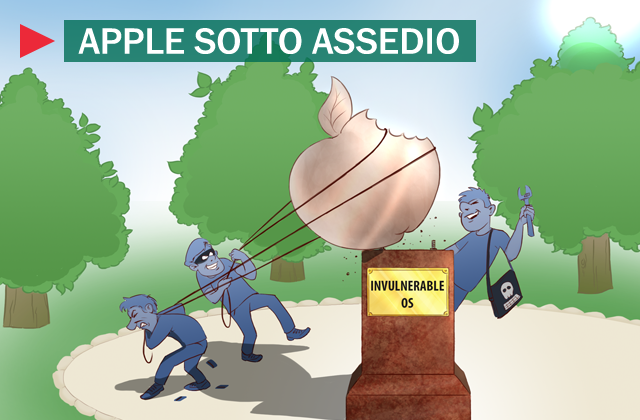 Apple sotto assedio