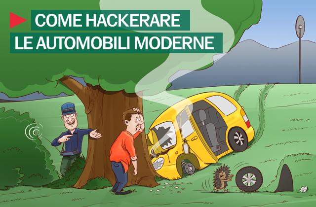 Hackeraggio automobili