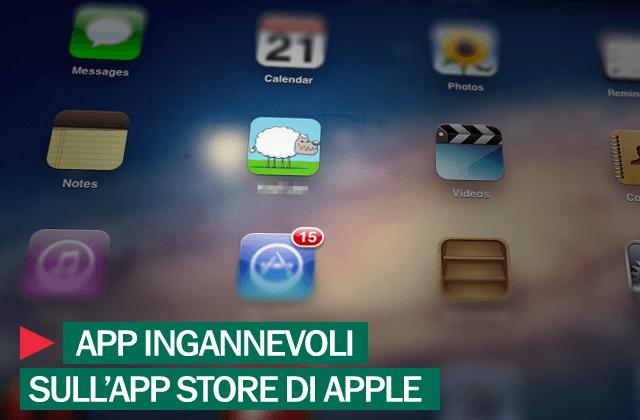 App ingannevoli_Apple