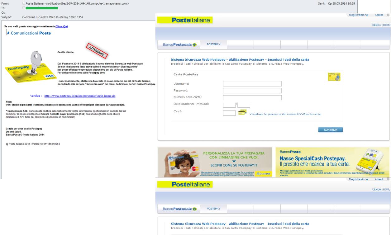 Attacchi Di Phishing Nei Confronti Dei Clienti Di Poste Italiane Blog