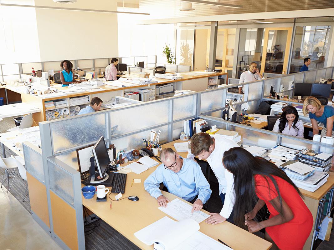 Idee Ufficio Open Space : Stipati come sardine gli uffici open space ufficiale di