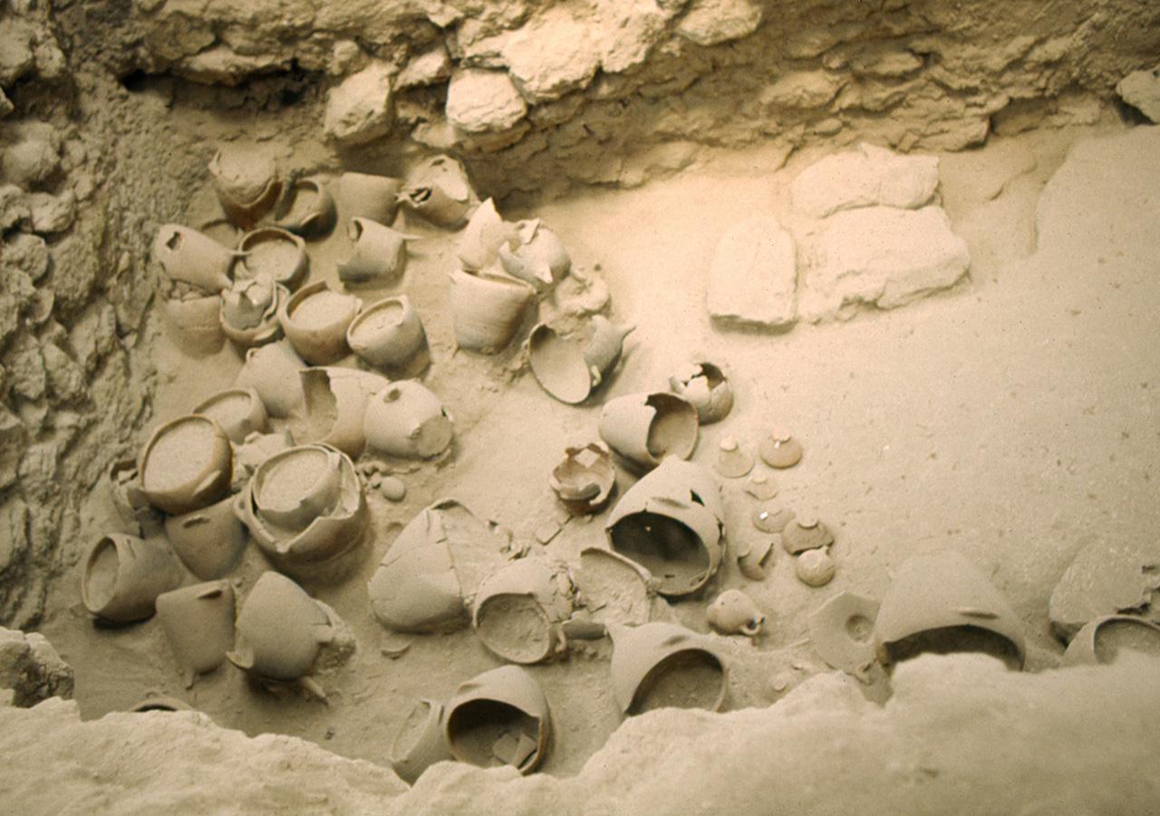 Per gentile concessione degli Archivi degli Scavi di Akrotiri, Thira