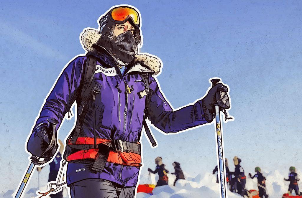 La spedizione arabo-europea arriva al Polo Nord  8a9e4b50eacc