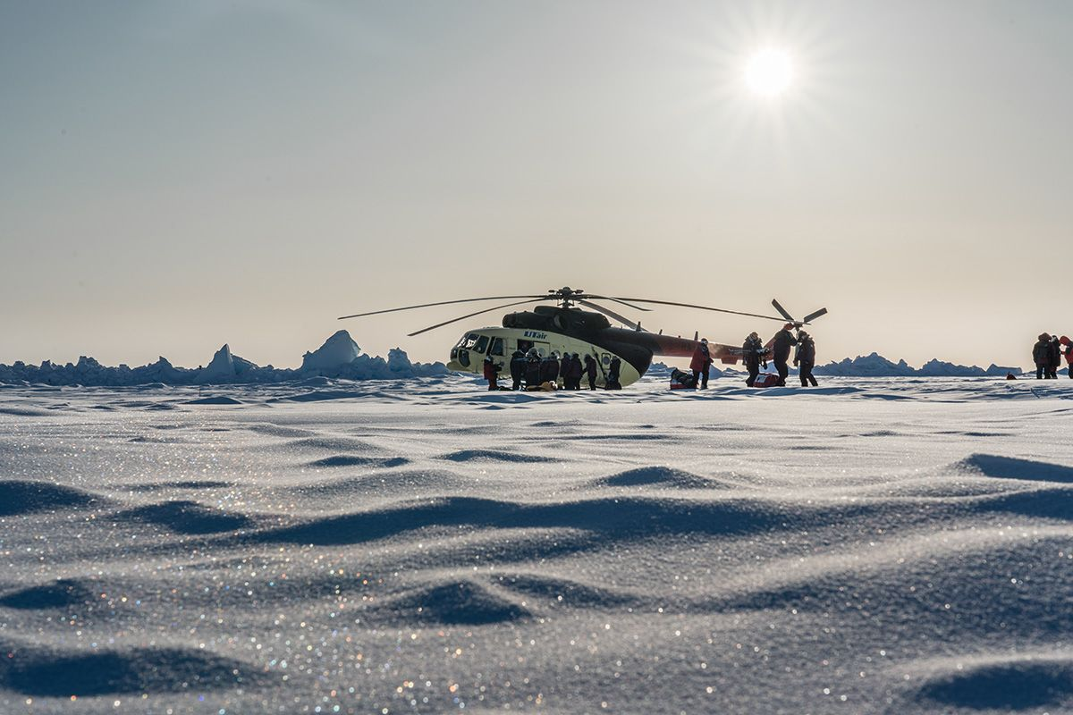 23.-The-Mi-8-helicopters-that-are-used-for-emergency-rescues-bringing-expeditions-to-their-drop-off-points-and-back-to-Barneo-from-the-North-Pole-Photo-by-Renan