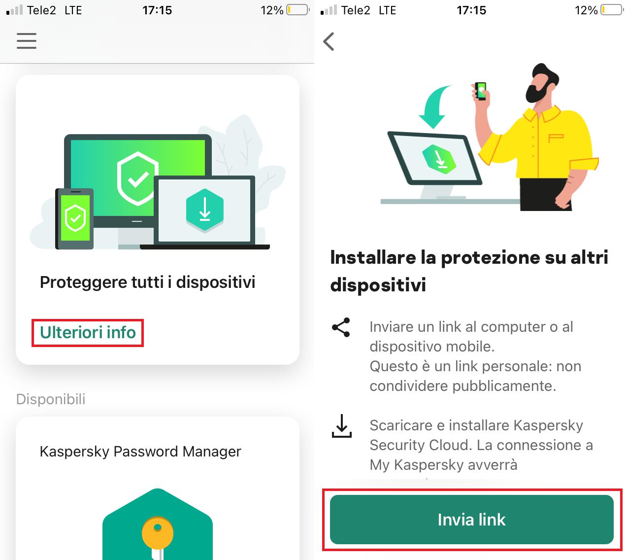 Come inviare una licenza a un nuovo dispositivo dal vostro smartphone