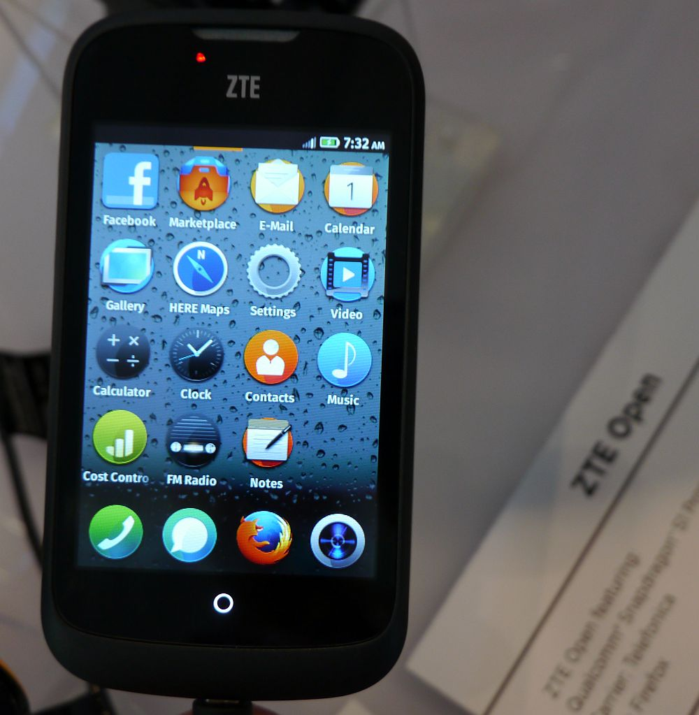 Новости Mobile World Congress 2013 - Firefox OS