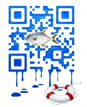 Художественный QR-код
