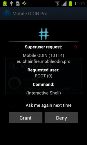 Root на Android 4 и менеджер прав SuperSU