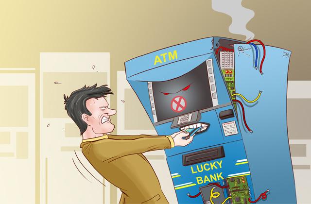 Банкоматы и терминалы способны вас ограбить!