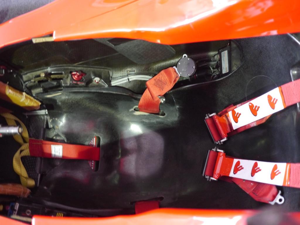 Место гонщика Formula 1
